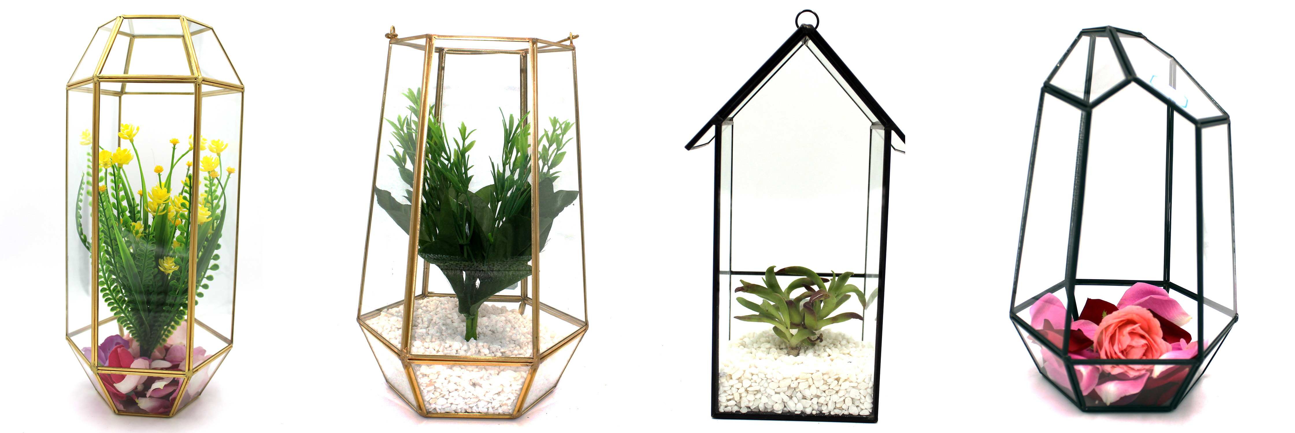Stained Glass House Terrarium Planter For Indoor Gardening Succulent Moss Fairy Garden China Glass Decoration And Home Decor Price Made In China Com