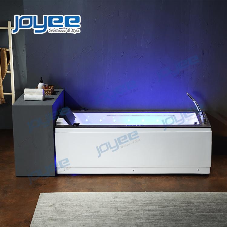 Joyee Massage Spa Indoor Hot Tub Bathtubs Jacuzzi With Led Lights With Massage Jets Balneo Baignoire In France China Stone Hot Tub Jacuzzi Bathtub Made In China Com