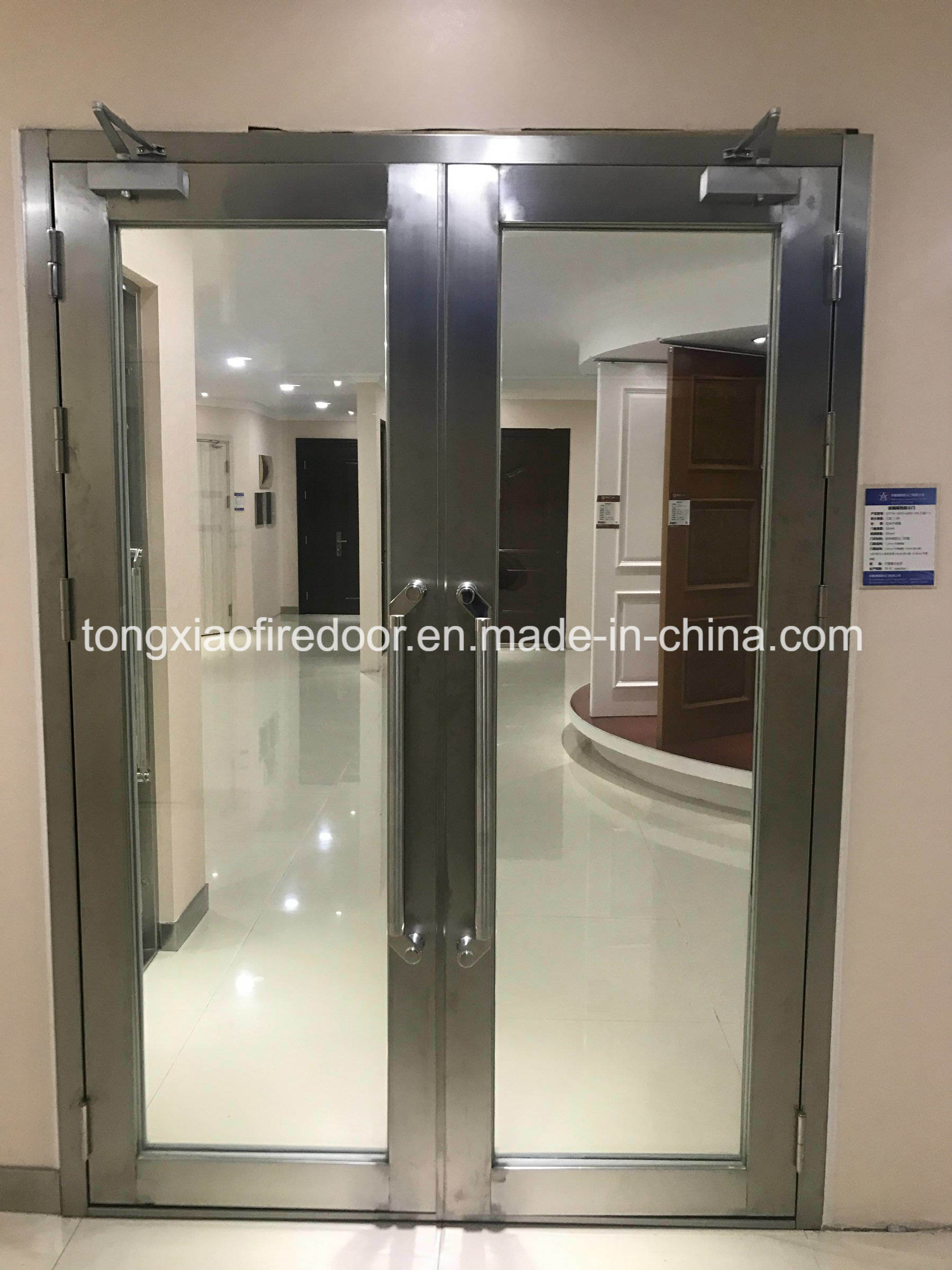 1 Hour Fire Rated Glass Doors China Glass Door Fire Rated Glass