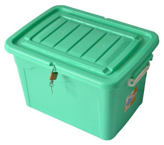 Customized Color Whole Plastic Pp, Storage Box With Lock