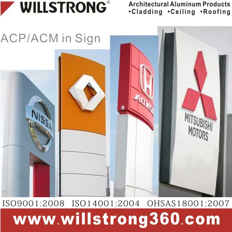 Willstrong Signage Aluminum Composite Panel