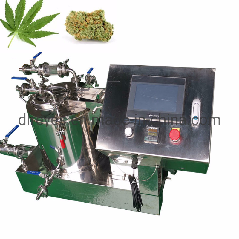 Stainless Steel Alcohol Hemp Oil Extraction Centrifuge