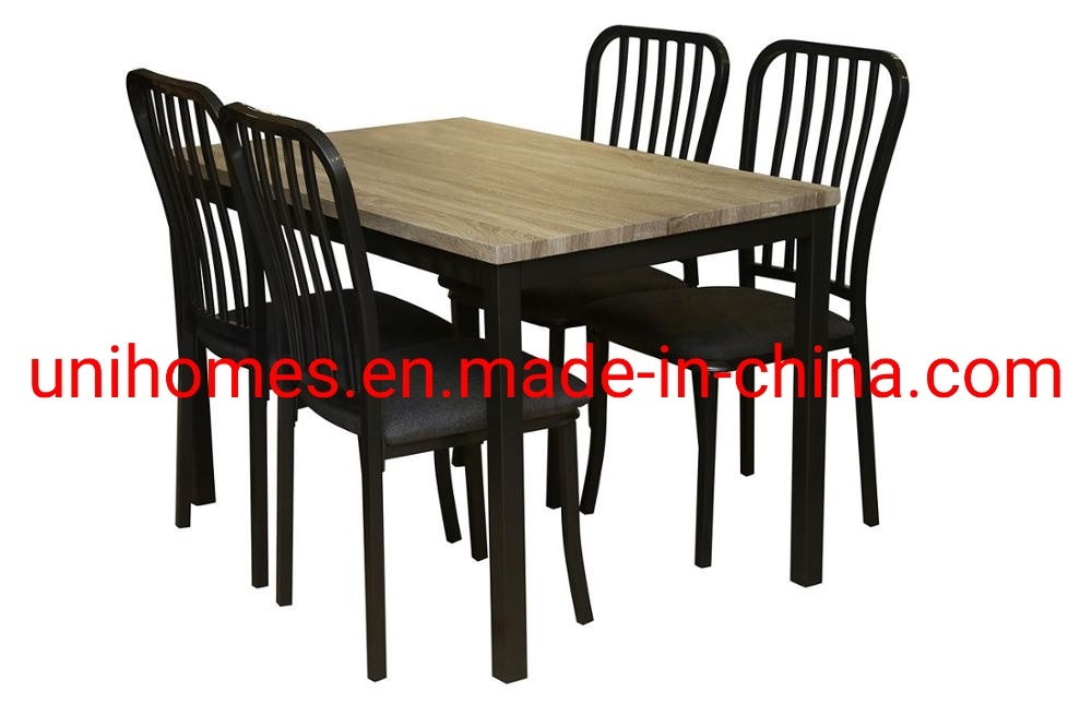Breakfast Table Set 5 Piece Dining Set Table Rectangular Metal Ergonomic Back Chairs Indoor Kitchen Dining Room China White Dining Room Chair Elegant Dining Room Furniture Sets Made In China Com
