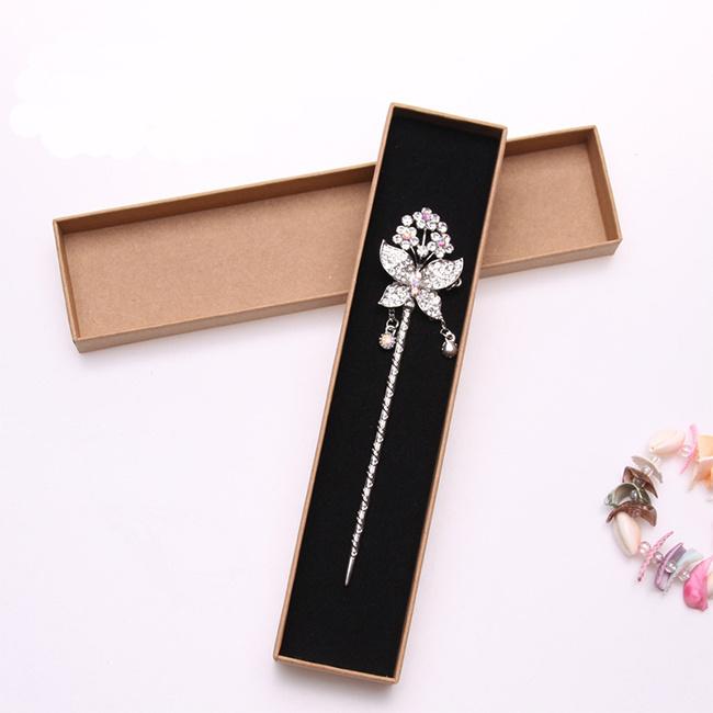 High Quality Custom Kraft Paper Jewelry Gift Box with Lid