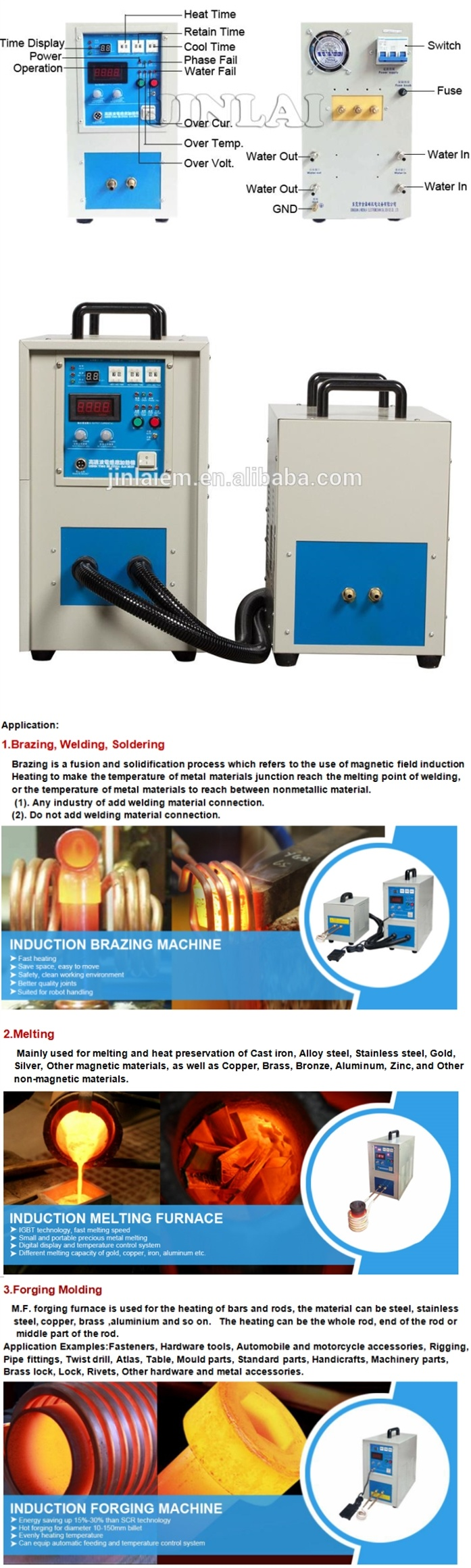 Best Price Magnetic Bearing High Frequency Induction Heating Machine Furnace Circuit Iii With Igbt Photo