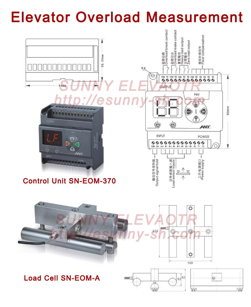 Elevator Overload Measurement / Elevator Parts (SN-EOM-370) - China