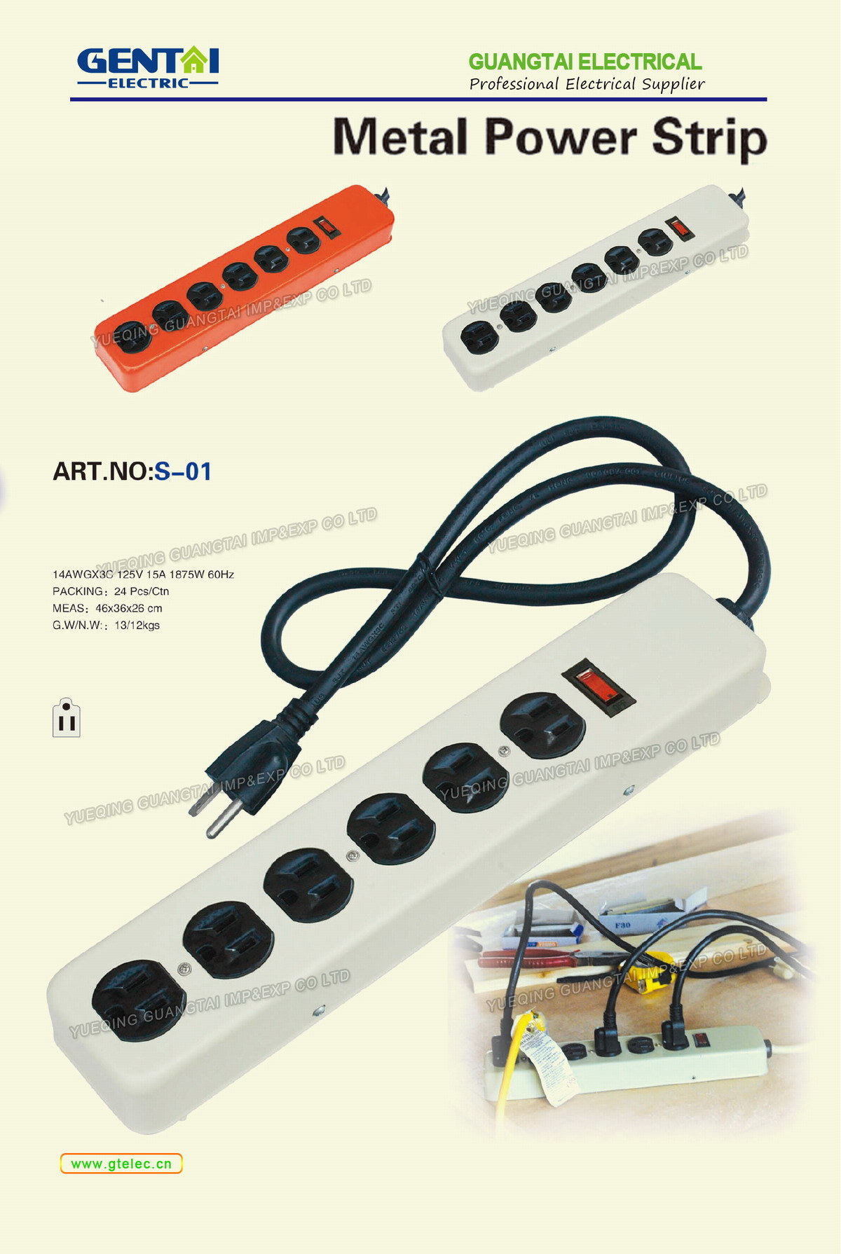 Surge Protection Power Strip Outlet Extension Socket For Us Plug Wiring Product Description
