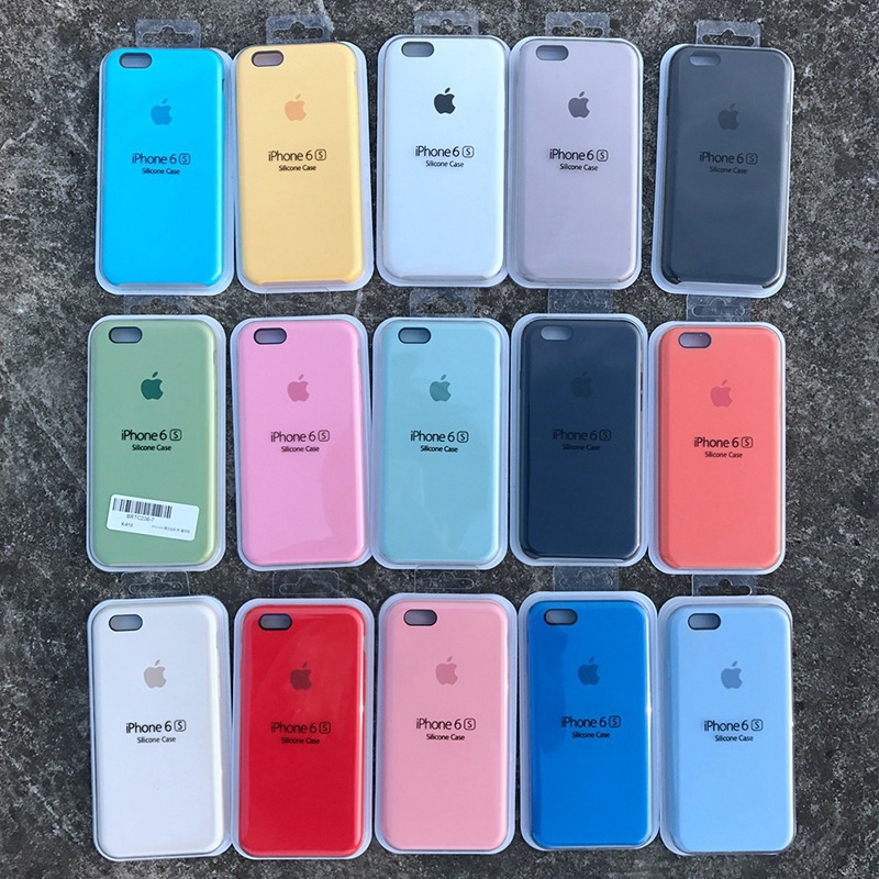 Original Cell Phone Silicone Case for iPhone 6s Plus Phone Cover ...