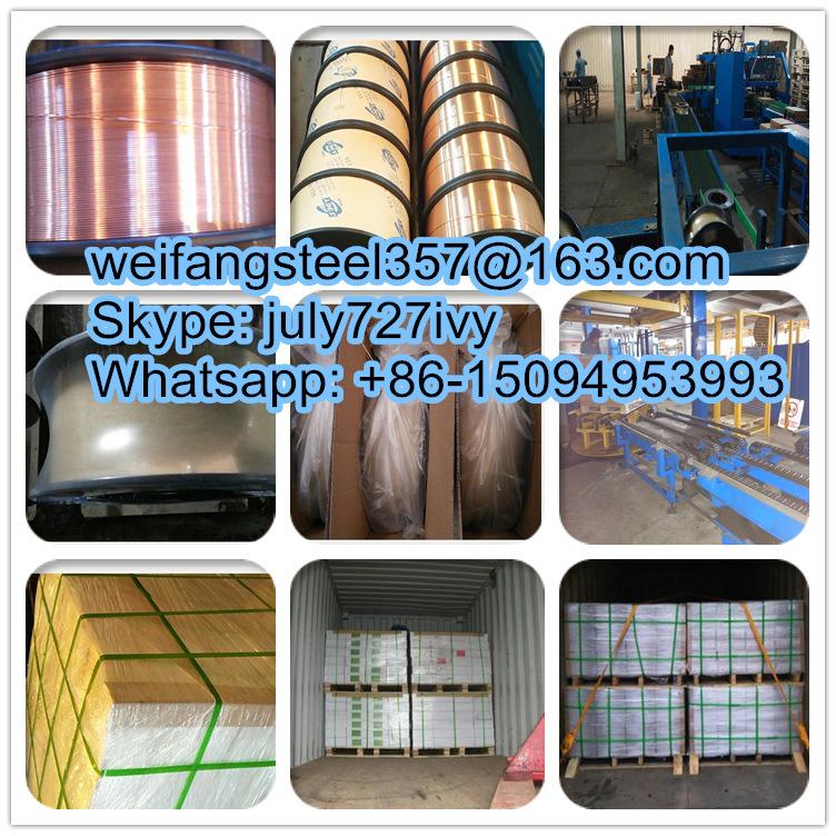 0.9mm Sg2/Er70s-6 CO2 Copper Coated MIG Welding Wire of Golden ...