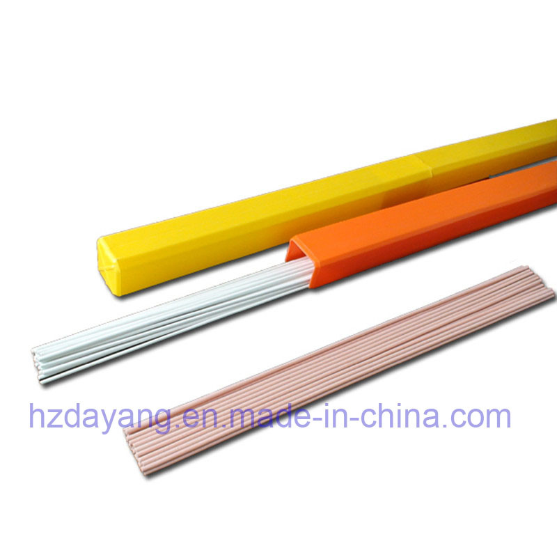 Flux Coated with Different Color Higher Quality Rbcuzn-C Welding Wire