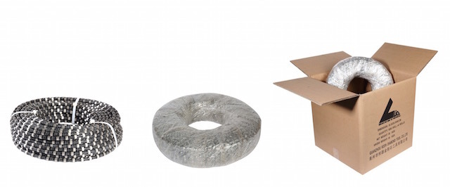 Smart Expo - Rubber+Spring Diamond Wire Saw for Concrete and ...