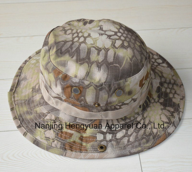 Military Camouflage Outdoor Bucket Hat (HY112302)