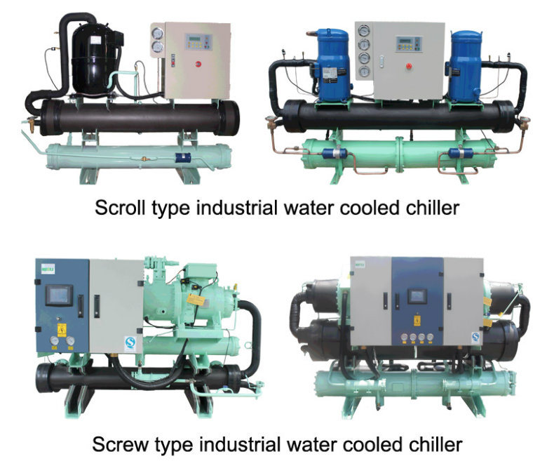 Screw Type Commercial Water Cooled Water Chiller