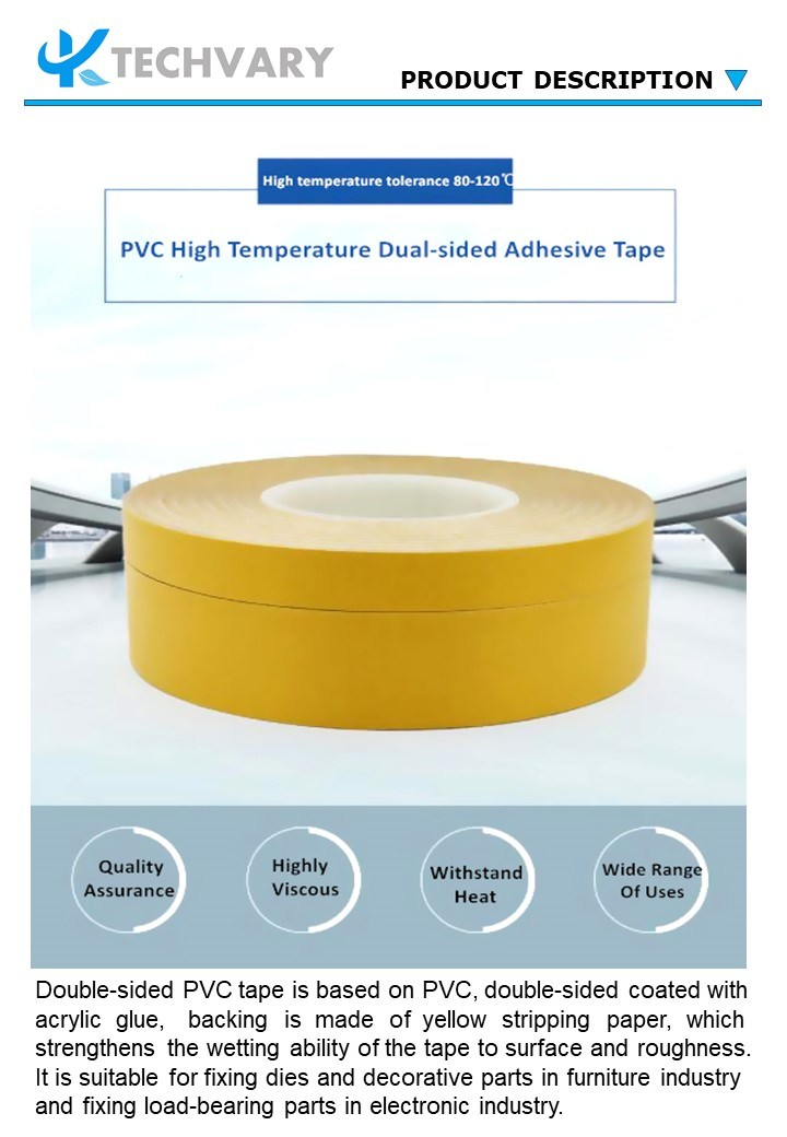Alternativas de Alta Temperatura de alta qualidade PVC forte fita