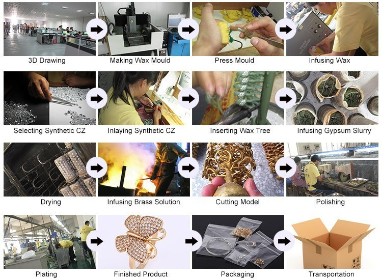 Imitation Fashion Cheap Small Stone Around Rose Gold Earrings Diamond Hoop Earring Jewelry