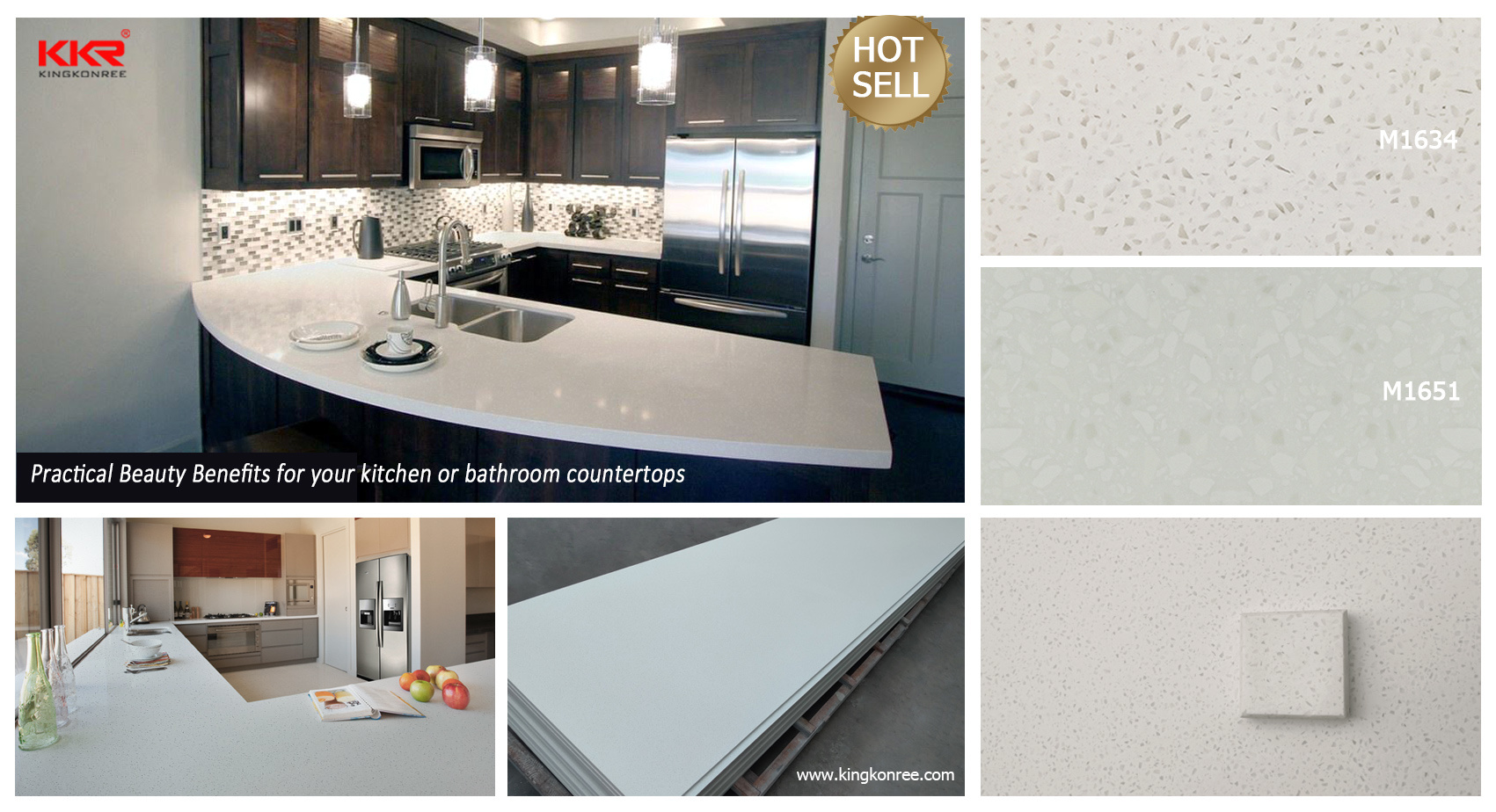 White Corian 9mm Table Top and Countertop Material Acrylic Solid ...