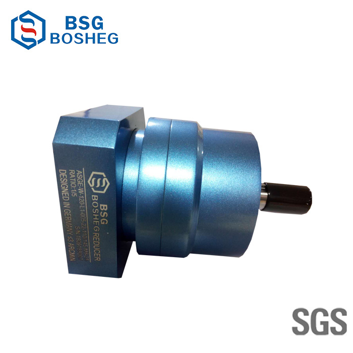Planetary Gearbox Motor for Servo and Stepper Motor Speed Ratio 3- 100 (Asge-W-120-L1)