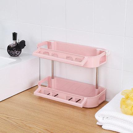 No Drilling Waterproof Bathroom Plastic, Plastic Shelves For Bathroom