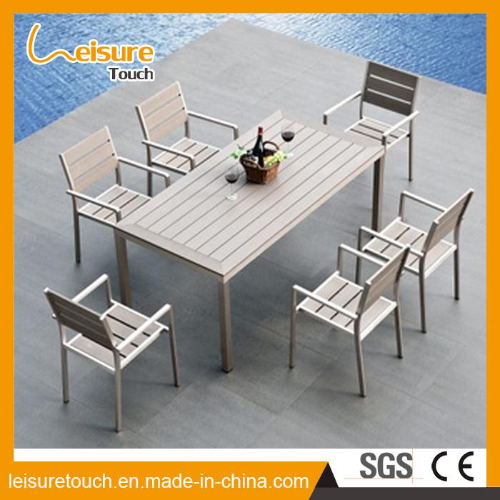 Diseño moderno, el aluminio Inicio Hotel Ocio juego de mesa y silla ...