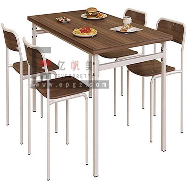 China Proveedor de muebles Restaurante cuatro plazas mesa de comedor ...