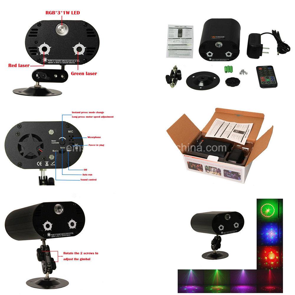 Supplier RGB Christmas Laser Stage Light DJ Equipment Projector ...