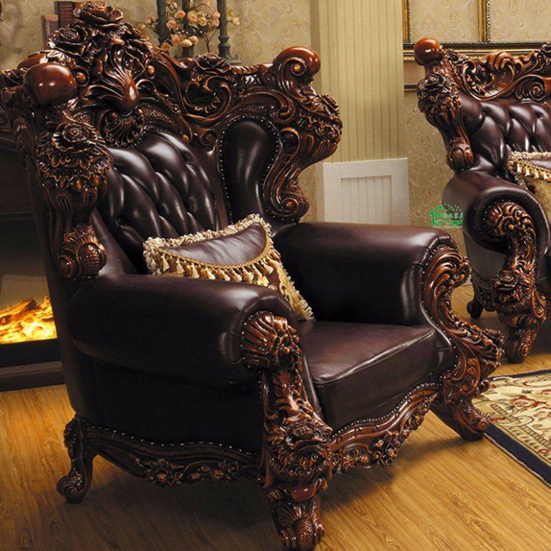 Sof di cuoio con colore facoltativo per la mobilia del for Mobilia domestica