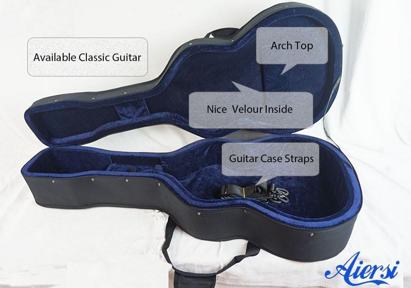 21460e19e9 Light Foam Hard Guitar Case for Classical and Acoustic Guitar ...