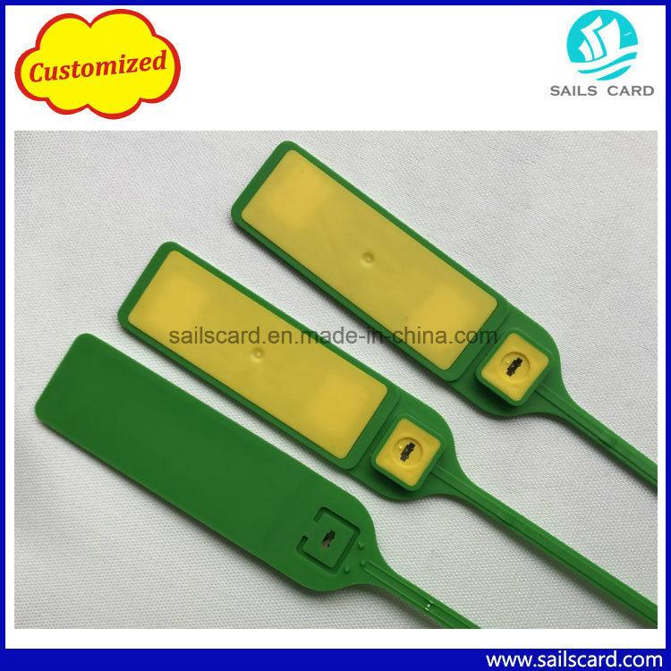2d3c69349b75 Security Plastic RFID Cable Tie Zip Tag UHF Tamper-Proof RFID Seal ...