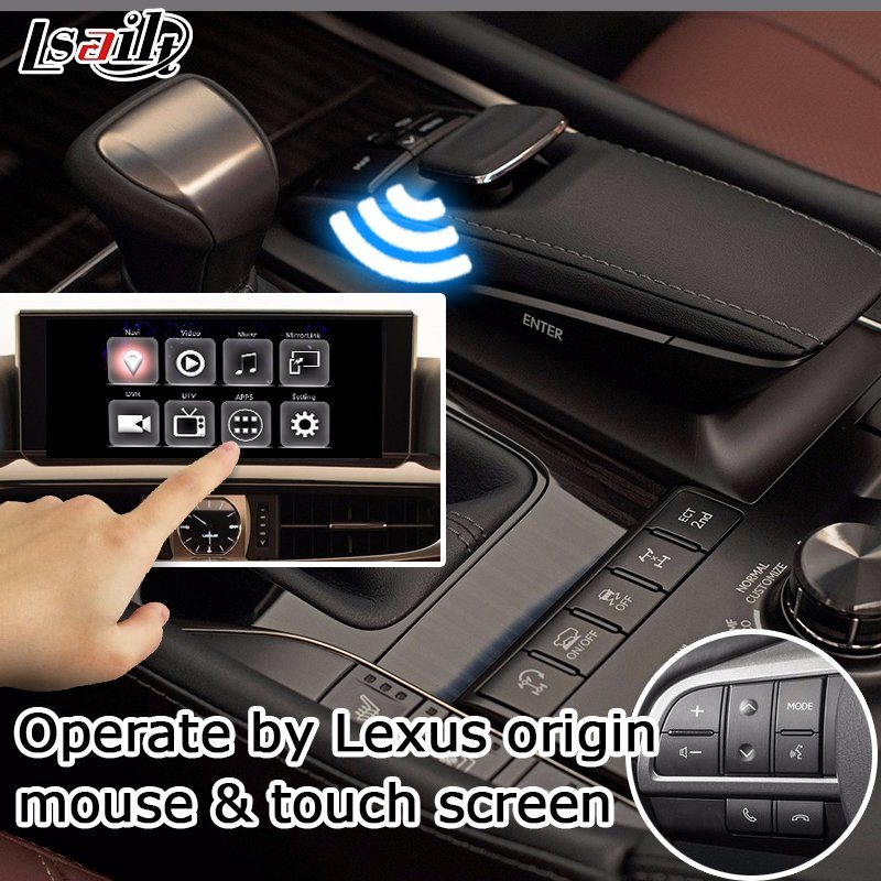 Lsailt Android GPS Navigation System Box for Lexus Lx570 2016 12 3
