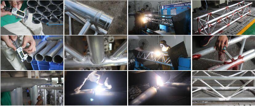 Aluminum Truss Spigot Box Truss Lighting Truss