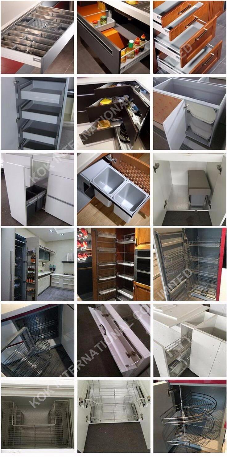 Gabinetes de baño04 Standard Shaker Door Gabinete de cocina de ...
