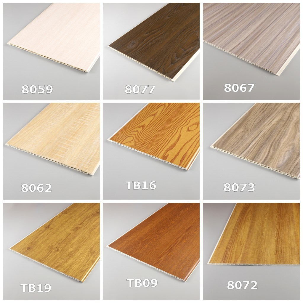 Stretch Building Material of 300mm PVC Decorative Ceiling Panel