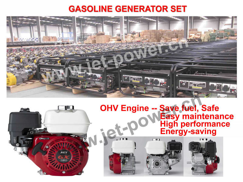 Electric 2kw Honda Engine Gasoline Power Generator - China Gasoline