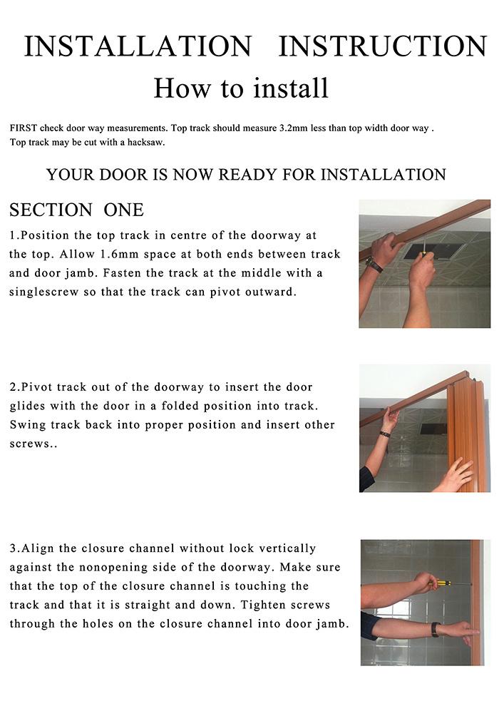 Images of Pvc Folding Door Qatar - Woonv.com - Handle idea