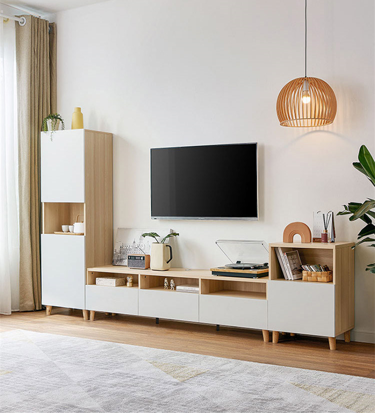 Modern Simple White Tv Cabinet Cabinet Cabinet Cabinet Cabinet Combination Small Living Room New Furniture Tv Cabinet Tv Stand China Wooden Tv Stand Tv Stand Furniture Made In China Com