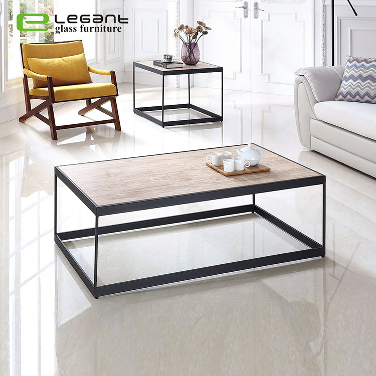 Square 5mm Ceramic Top Coffee Table Living Room Sofa Side Table China Coffee Table Glass Coffee Table Made In China Com