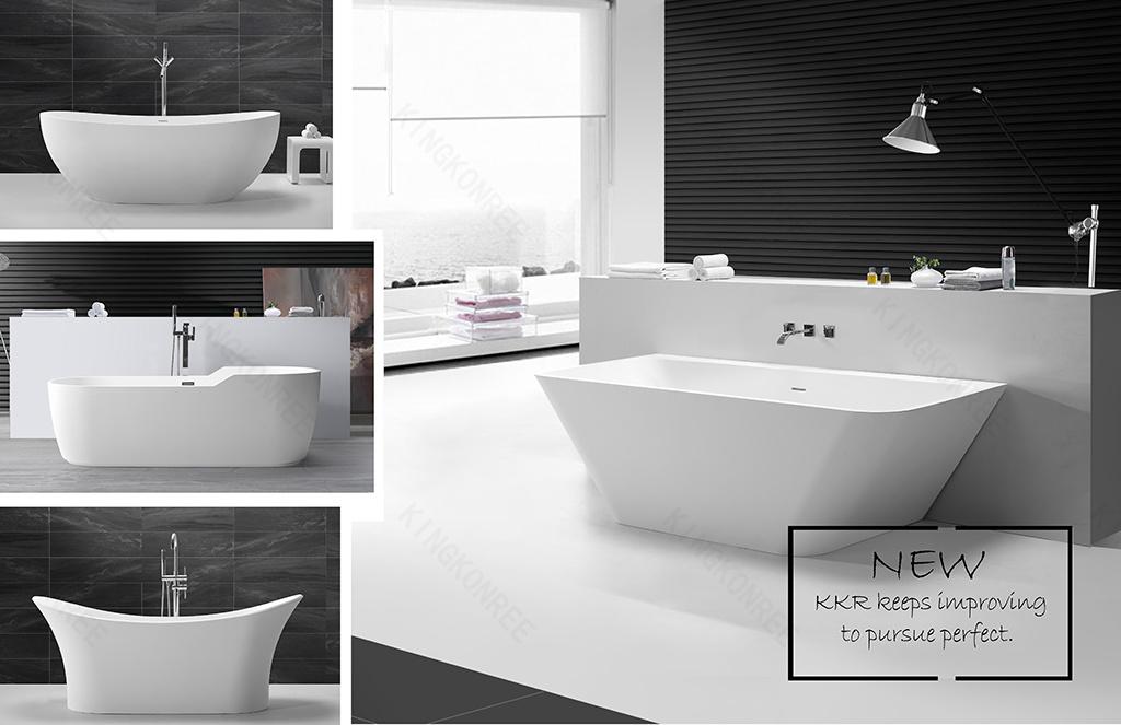 Kohler Sanitary Ware Bathroom Bathtub Resin Stone Hot Tub