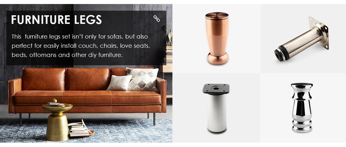 China Sofa Table Leg Metal, How To Install Furniture Legs