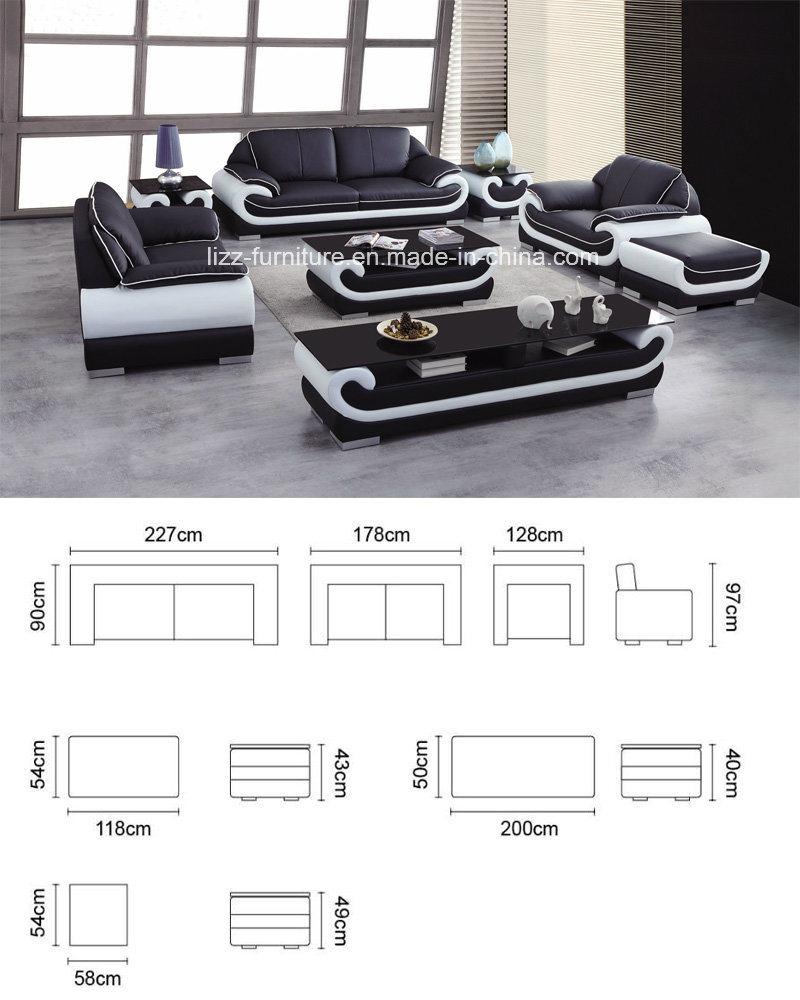 Modernos muebles seccionales sofás de cuero suave Miami – Modernos ...