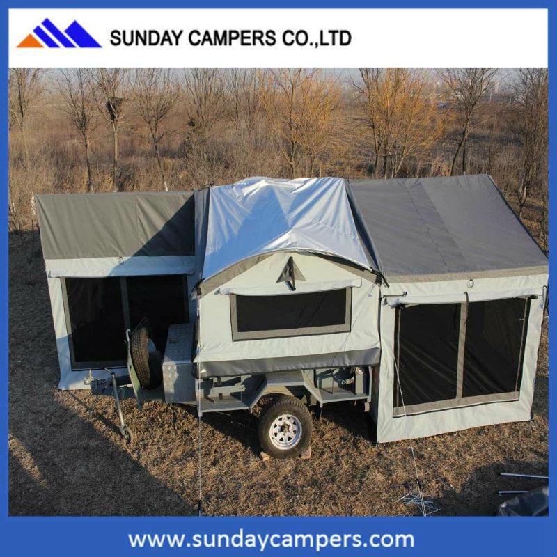 China ha hecho Camping remolques remolques tienda Tienda de Venta ...
