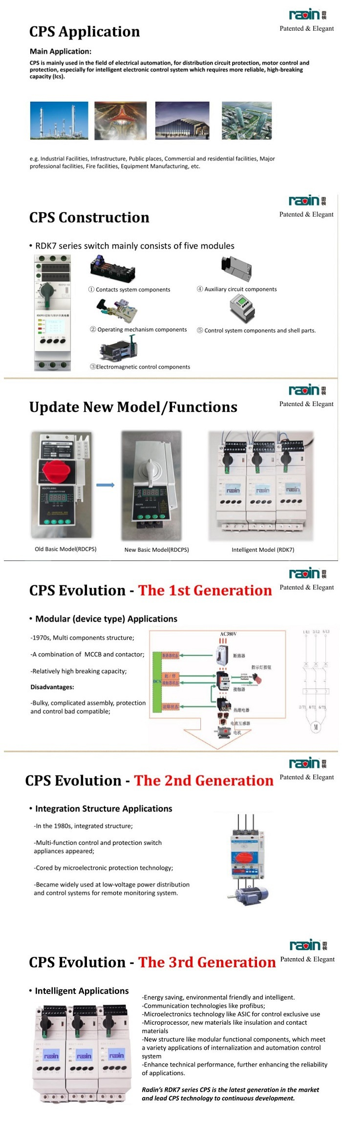 Soft Starter Motor Control Relay Isolator Switch Kb0 Rdcps Going Bad Cps Is A Multi Function Reliable And Basic Component Provide Protection For Lv Power Distribution System