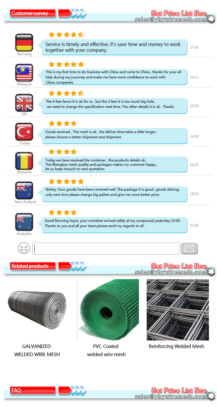 6 Gauge 4X4 Inch Galvanized Welded Wire Mesh Fence Sheet for Safety ...