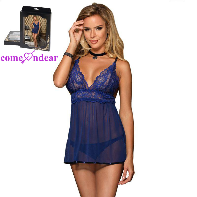 Mature see through baby doll