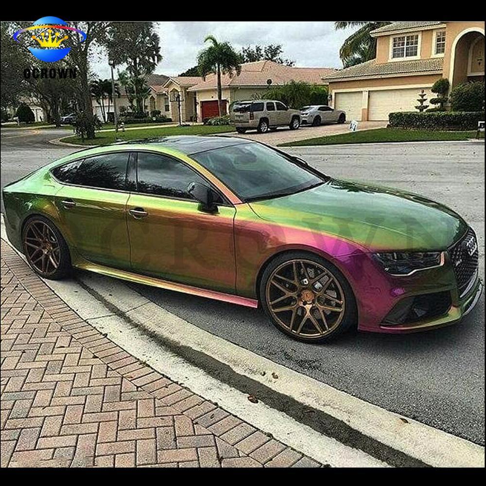 Color Changing Car Paint.Kameleon Color Changing Car Paint Pigment Coating Material