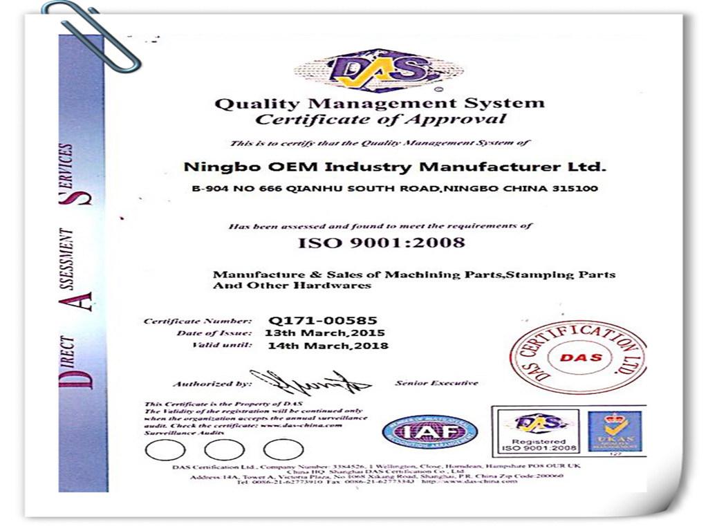 OEM CNC Machined Parts