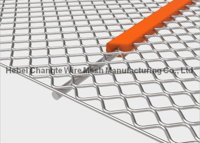 Galvanized Wire Mesh Sand Screen Harp Type T Self - Cleaning Metal ...