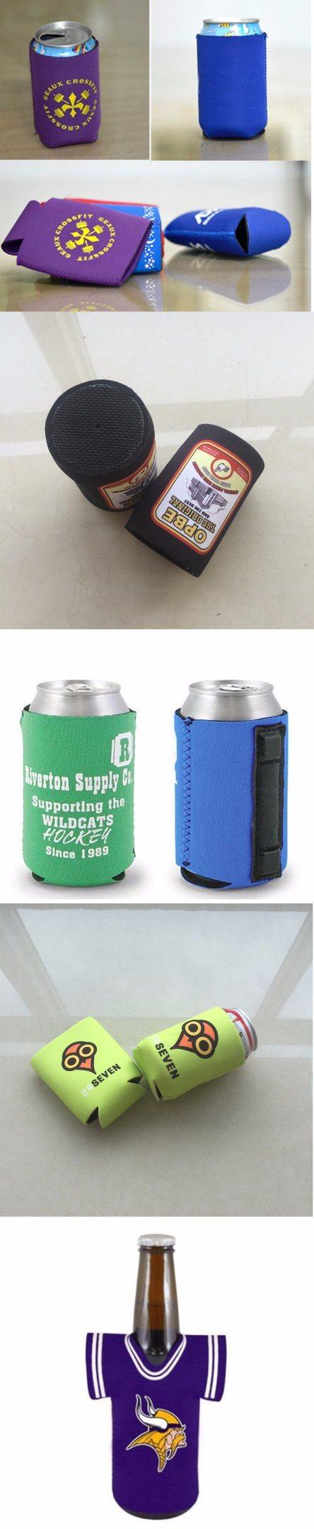 130*105*3mm Custom Neoprene Koozie Stubby Holder Beer Can Cooler