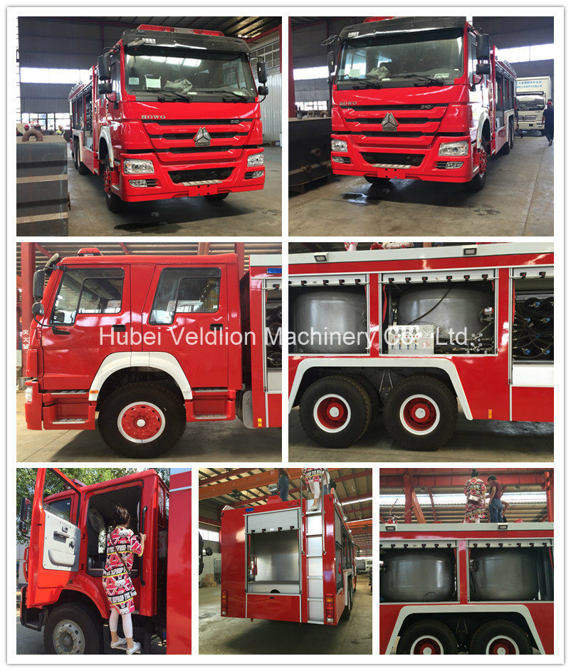 Isuzu 4X2 Fire Fighting Trucks with 8, 000 Litres Water Tank