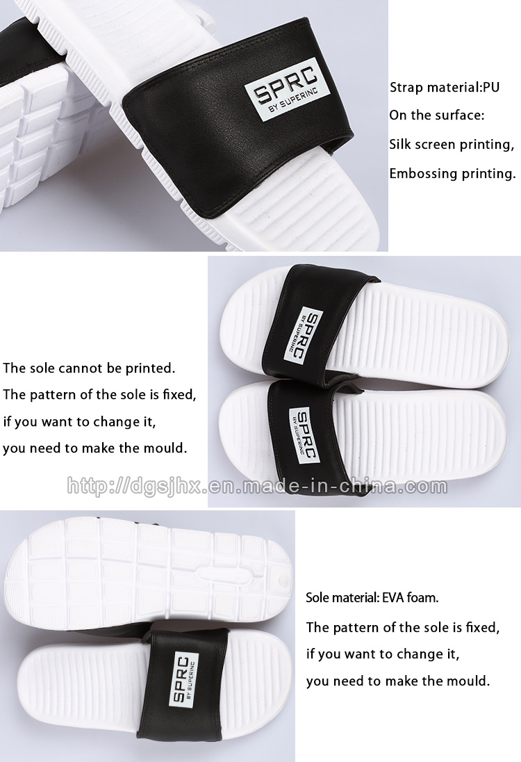 e7221a7b316c New Designs Flat EVA Soft Slide Sandal Men Slippers - China Slippers ...