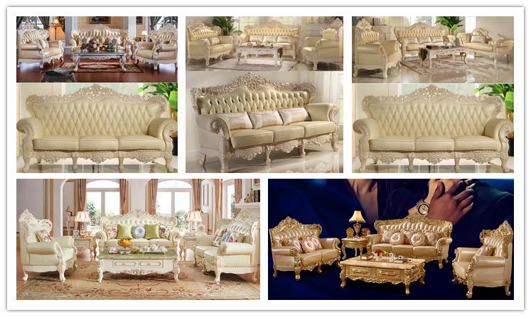 Mobilia di cuoio classica del sof per la mobilia del for Zurich mobilia domestica